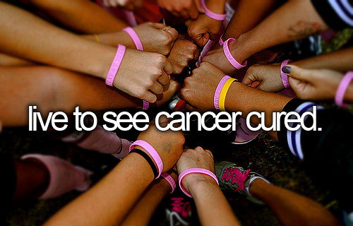 Live to See Cancer Cured